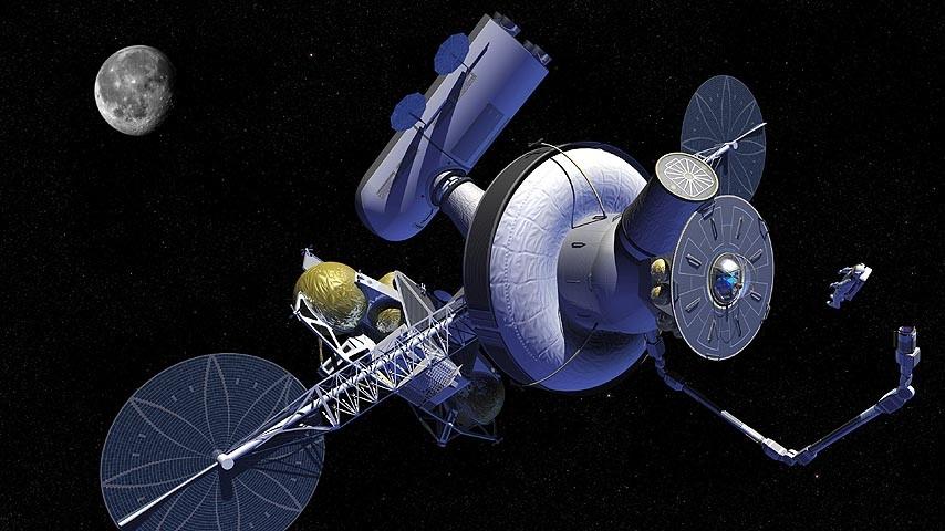 Lunar Exploration Concepts - Lunar Exploration Via Libration Points - E-M  L1 Exploration Gateway.jpg 559d4cd6ecf