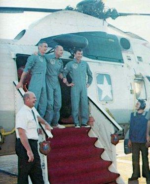Аполлон-10, якобы вернулись с Луны
