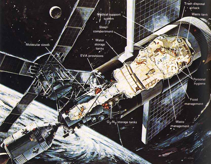 skylab space station crash - photo #16