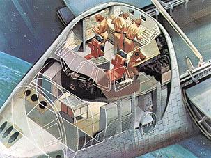 space shuttle cabin crew - photo #24