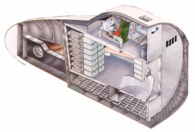 space shuttle cabin crew - photo #1