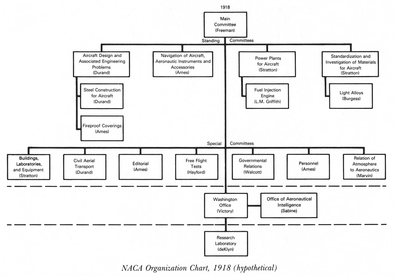 hypothetical organization chart