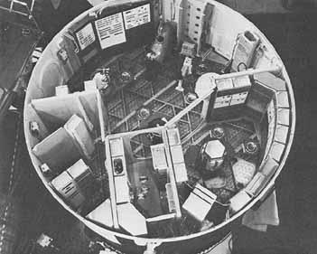 astronauts sleeping compartment - photo #29