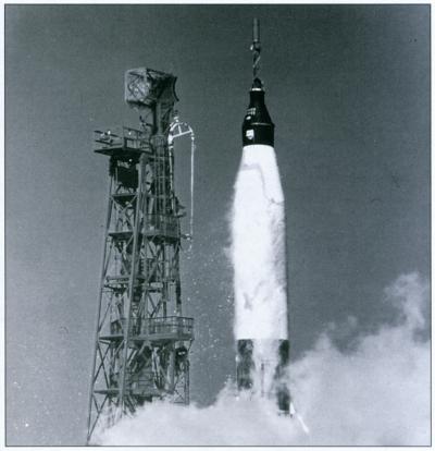 friendship 7 spacecraft take off - photo #5