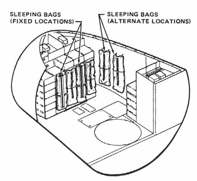 diagram of sleeping space shuttle diagrams  space shuttle diagrams