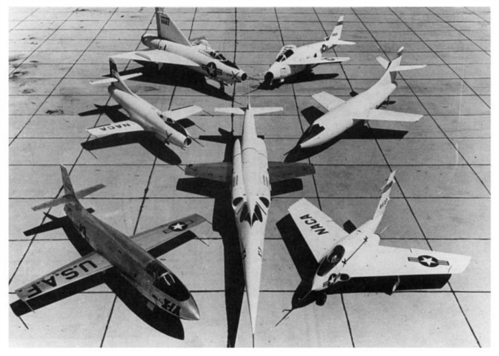 Chapter 3, Going Supersonic (1945-1958)