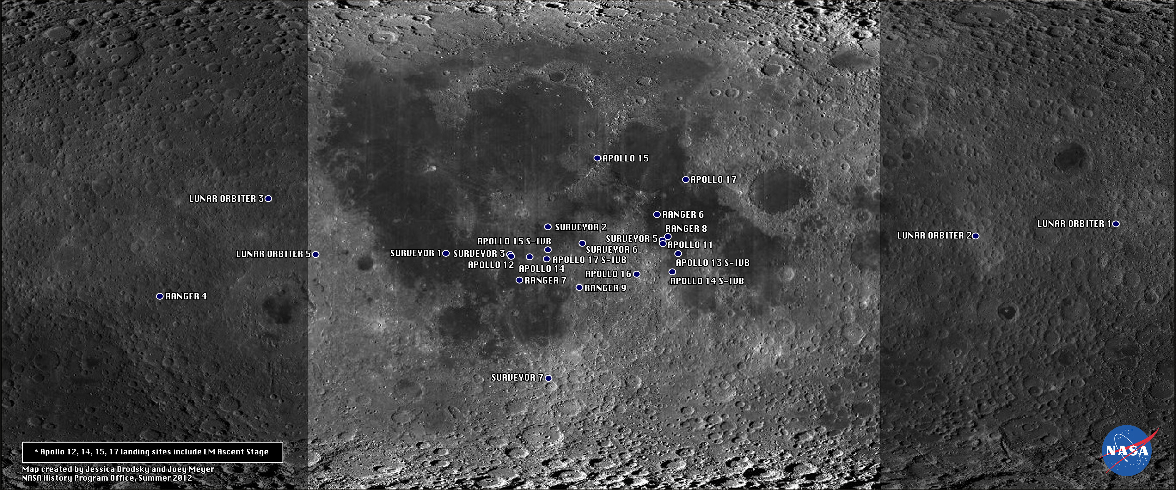 Human Artifacts on the Moon
