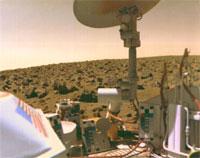 Viking on Mars in 1976