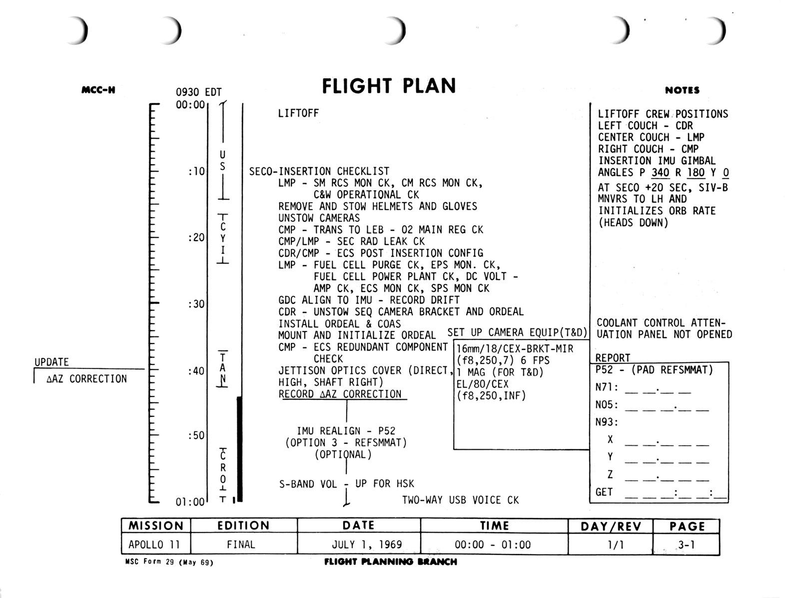 Apollo 11 Flight Journal - Day 1, part 1: Launch