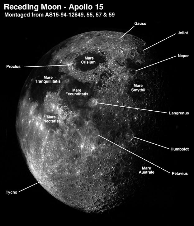 diagram of the apollo moon landings s surface - photo #8