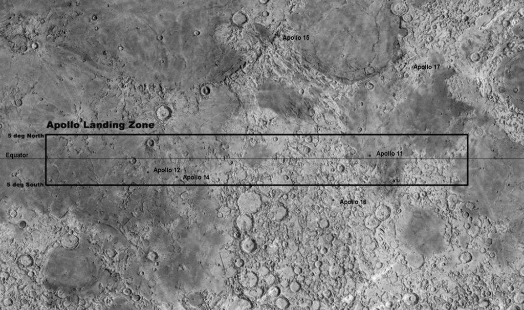 apollo tracks on moon - photo #24