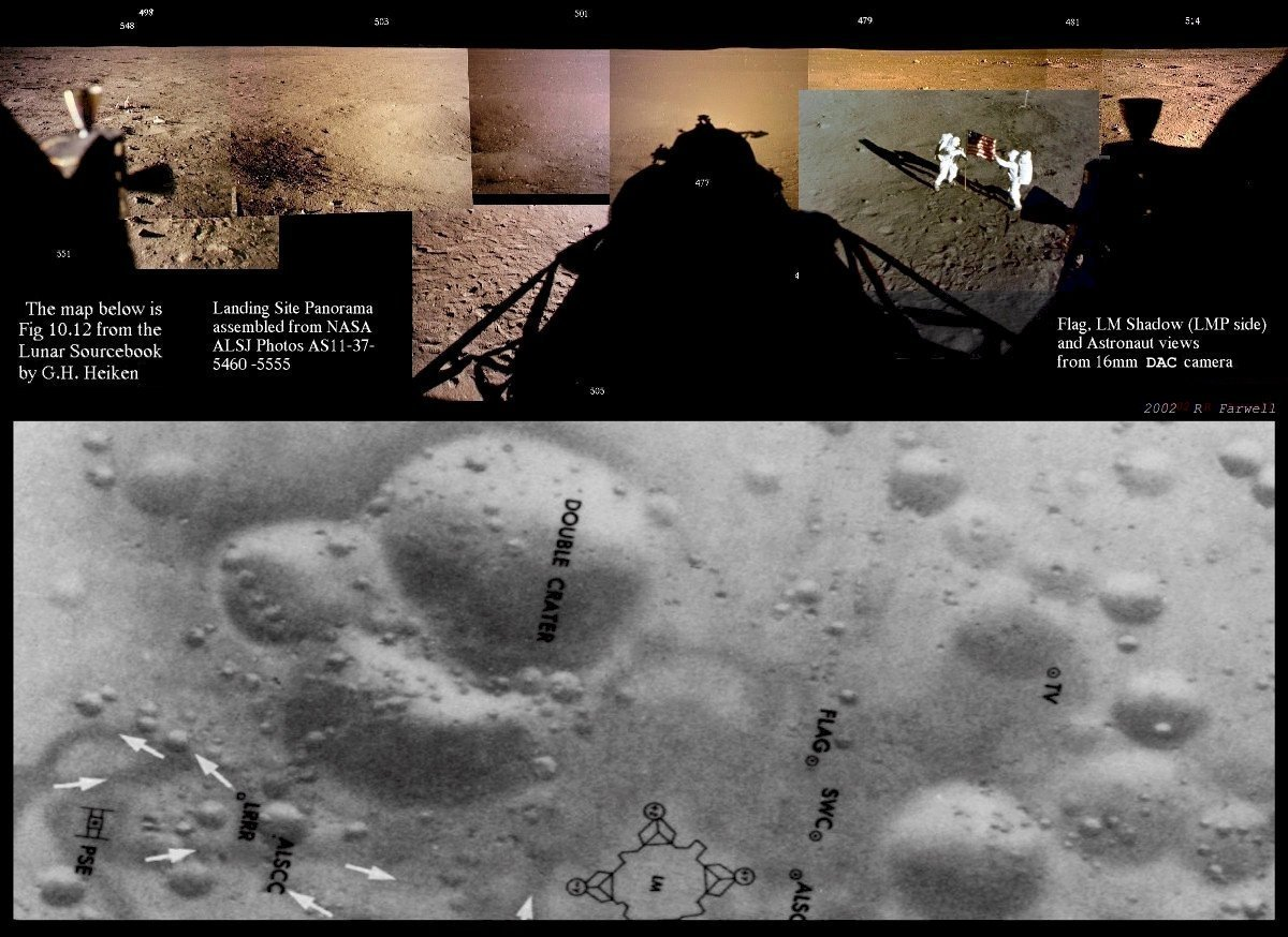 My View : LRO and the Apollo 11 Landing Site