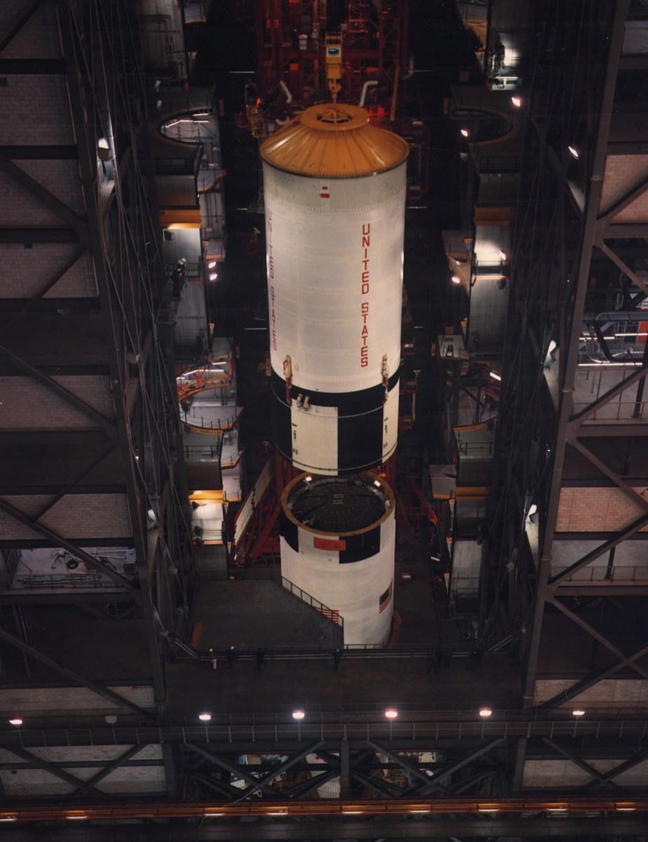 Apollo 11 Image Gallery Preparing A Moonship