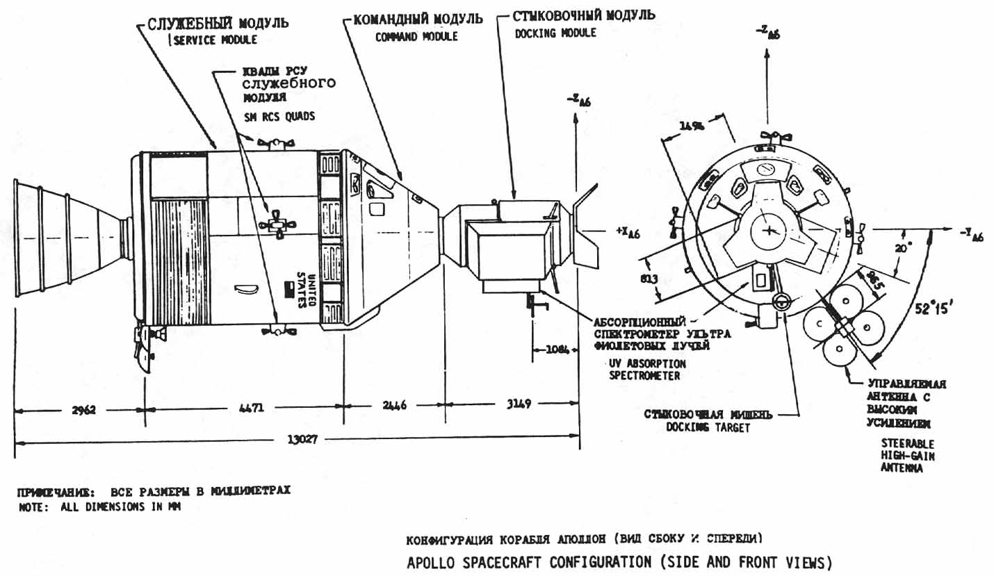 Apollo Spacecraft Drawings Apollo Spacecraft