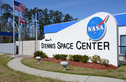 Stennis Space Center sign