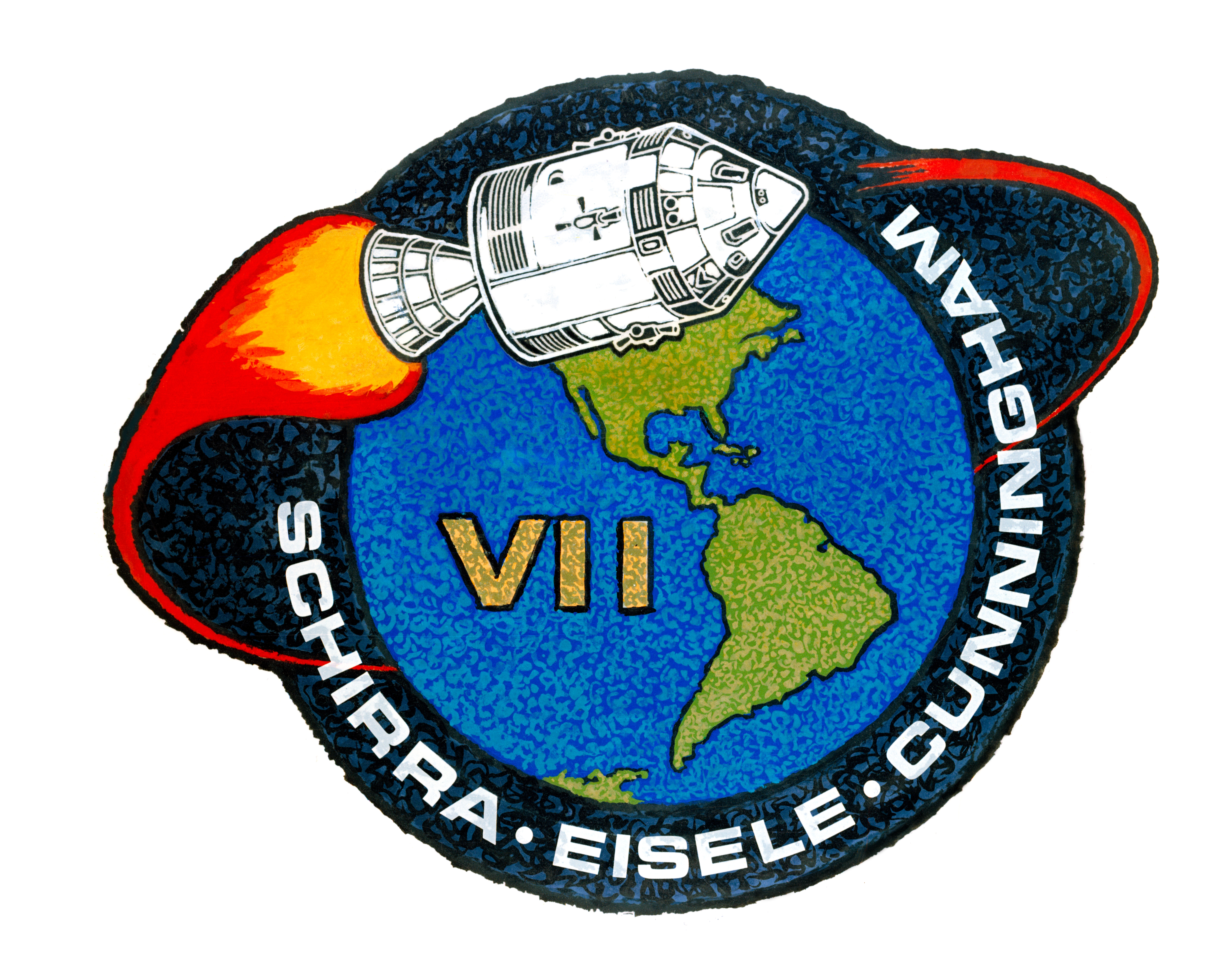 Apollo Program Mission Patches