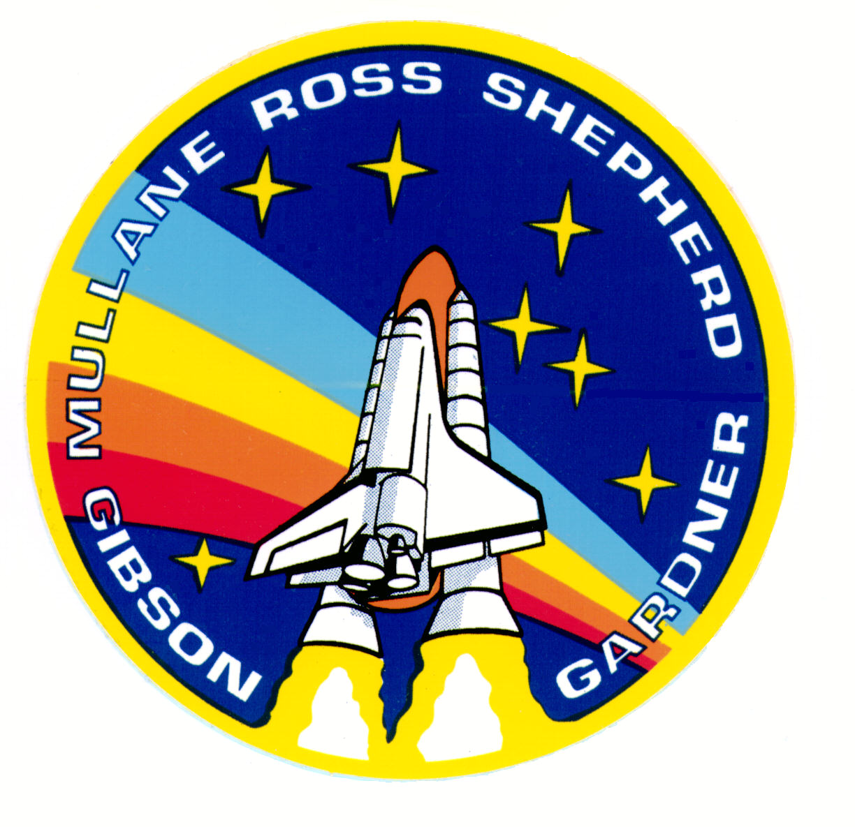 space shuttle mission badges - photo #4