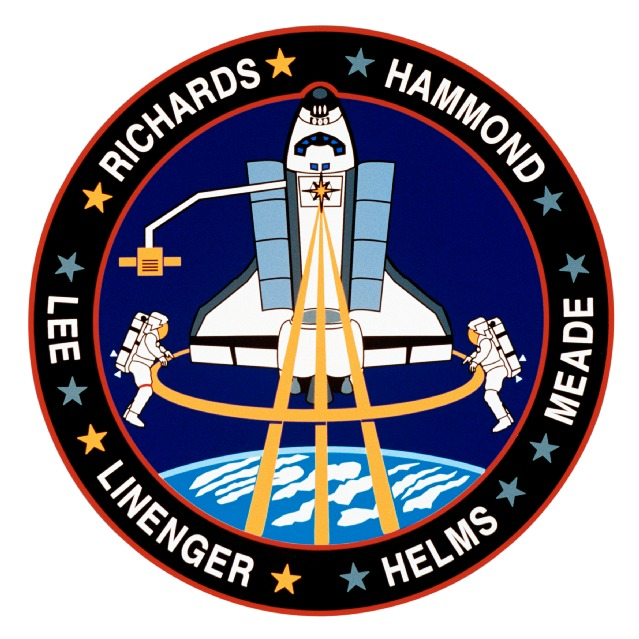 Mission Patches On Mission 4 To The International Space: Space Shuttle Mission Patches